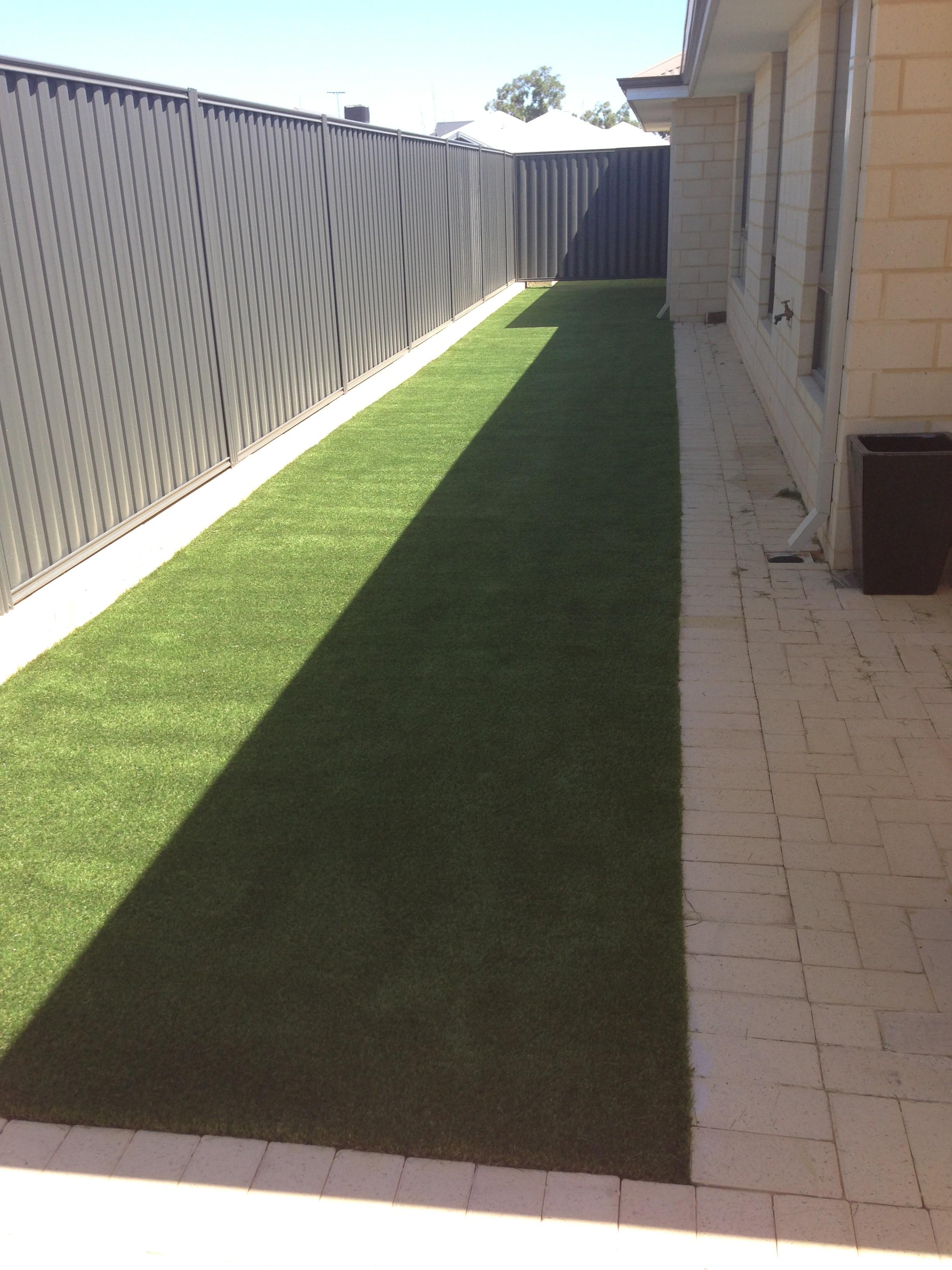 artificial lawn Tanya Baldivis