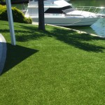 Synthetic turf canals in Mandurah