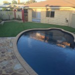 2 Meadow Cool artificial synthetic lawn grass turf in Rockingham