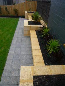 Limestone-planters